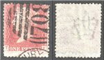 Great Britain Scott 33 Used Plate 136 - TE