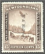 Newfoundland Scott 211 Used VF