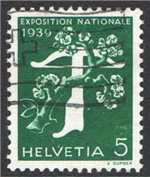Switzerland Scott 256a Used