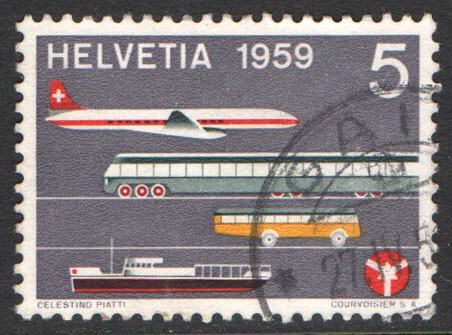 Switzerland Scott 370 Used