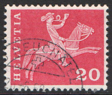 Switzerland Scott 385d Used