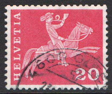 Switzerland Scott 385e Used
