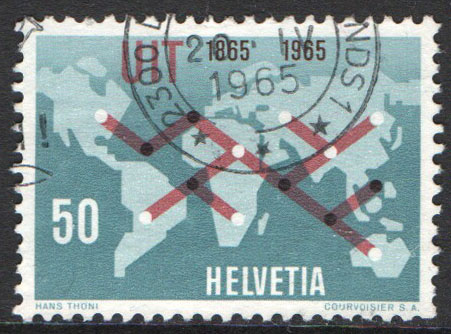 Switzerland Scott 465 Used
