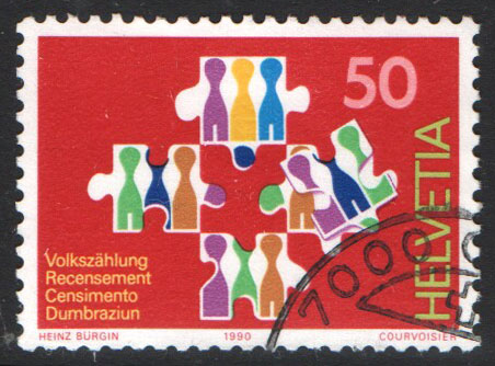 Switzerland Scott 869 Used