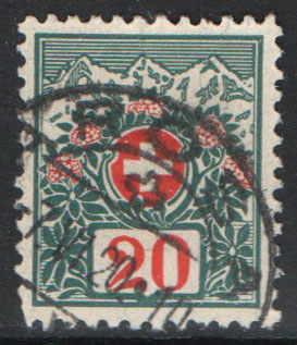Switzerland Scott J40 Used