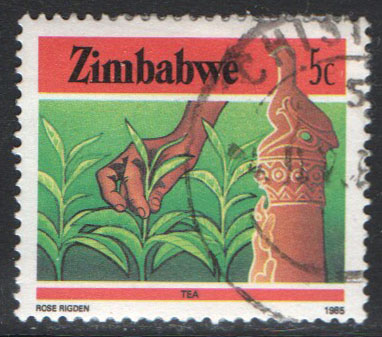 Zimbabwe Scott 496 Used