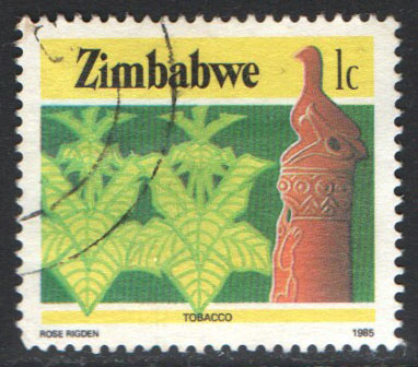 Zimbabwe Scott 493 Used