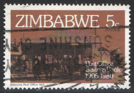 Zimbabwe Scott 434 Used
