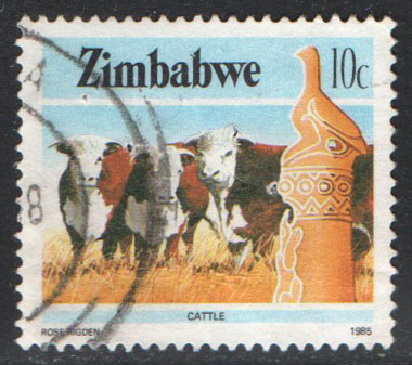 Zimbabwe Scott 497 Used