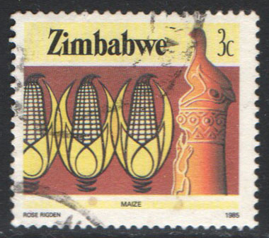 Zimbabwe Scott 494 Used