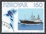 Faroe Islands Scott 26 Used