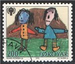 Faroe Islands Scott 47 Used