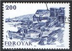 Faroe Islands Scott 62 Used