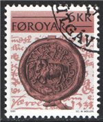 Faroe Islands Scott 68 Used