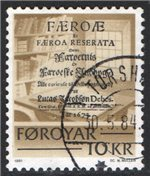 Faroe Islands Scott 69 Used