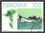 Faroe Islands Scott 24 Used