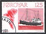 Faroe Islands Scott 25 Used