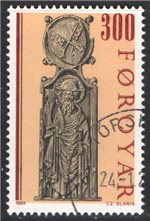 Faroe Islands Scott 103 Used