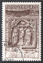 Faroe Islands Scott 184 Used