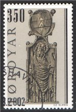 Faroe Islands Scott 104 Used