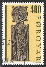 Faroe Islands Scott 105 Used