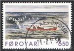 Faroe Islands Scott 308 Used