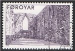 Faroe Islands Scott 185 Used