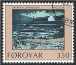 Faroe Islands Scott 213 Used