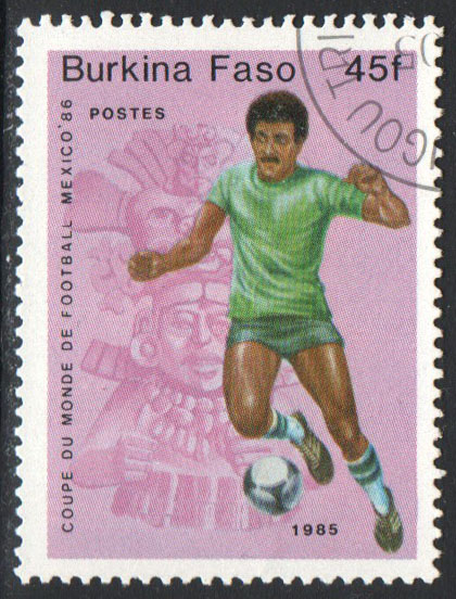 Burkina Faso Scott 682 Used