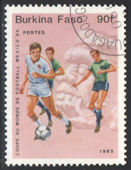 Burkina Faso Scott 683 Used