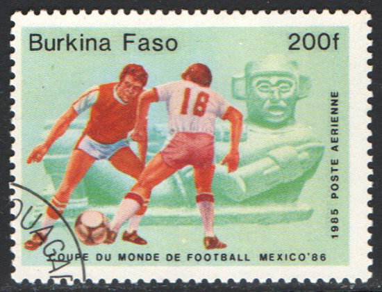 Burkina Faso Scott 686 Used