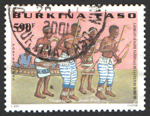 Burkina Faso Scott 1212 Used