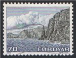 Faroe Islands Scott 11 Used