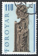 Faroe Islands Scott 55 Used