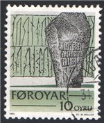 Faroe Islands Scott 65var Used (P)
