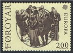 Faroe Islands Scott 64 Used