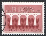 Faroe Islands Scott 106 Used