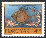 Faroe Islands Scott 261 Used