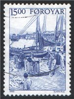Faroe Islands Scott 292 Used