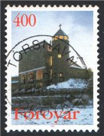 Faroe Islands Scott 294 Used