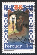 Faroe Islands Scott 271 Used