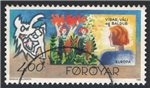Faroe Islands Scott 282 Used