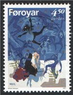 Faroe Islands Scott 321 Used