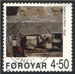 Faroe Islands Scott 364 Used