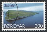 Faroe Islands Scott 383 Used