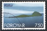 Faroe Islands Scott 385 Used