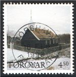 Faroe Islands Scott 329 Used