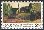 Faroe Islands Scott 284 Used
