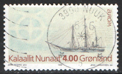Greenland Scott 268 Used