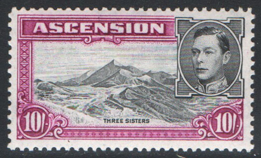 Ascension Scott 49 MNH (P)